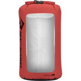 Sea to Summit View Dry Sack L, red